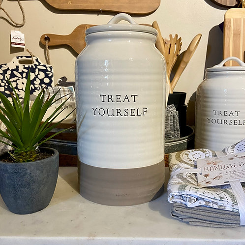 Treat Yourself Cookie Jar