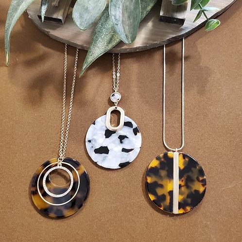 Animal Disc Necklaces