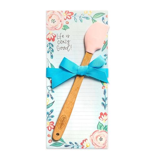 Crazy Good Notepad & Spatula