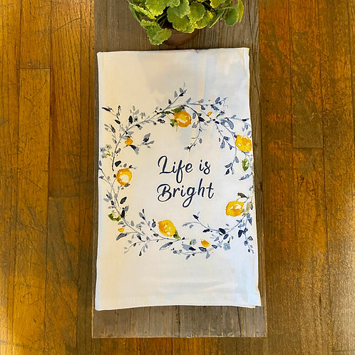 Life is Bright Towel