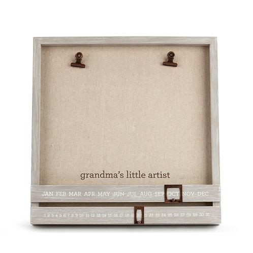 Grandma's Little Artist Frame