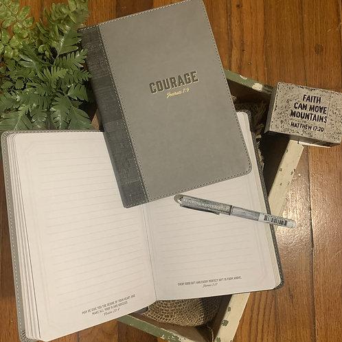 Courage Slimline Journal