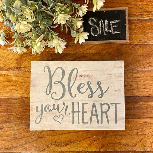 Bless Your Heart Block