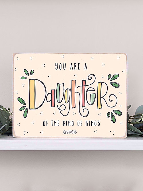 King's Daughter Sign