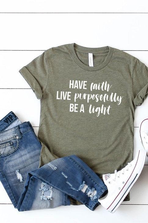 Be a light tee