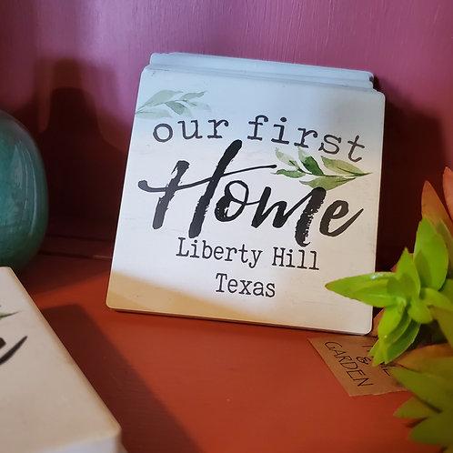 First LH Home Coaster
