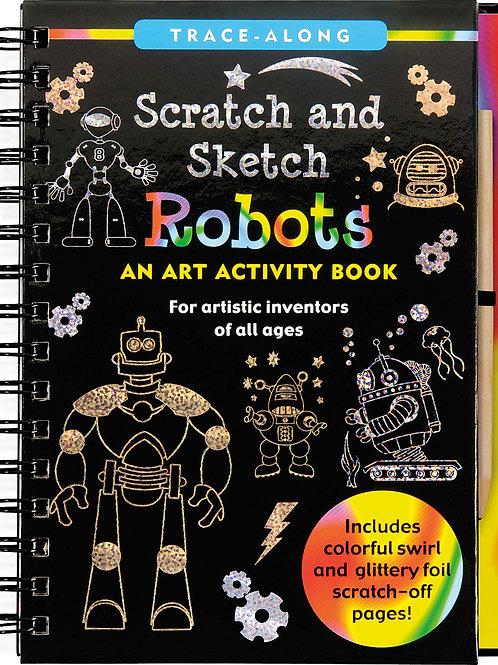 Sketch & Scratch Robots