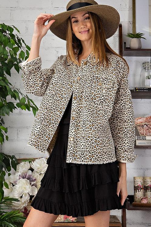 Wild Leopard Jacket