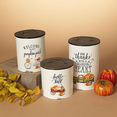Harvest Canisters
