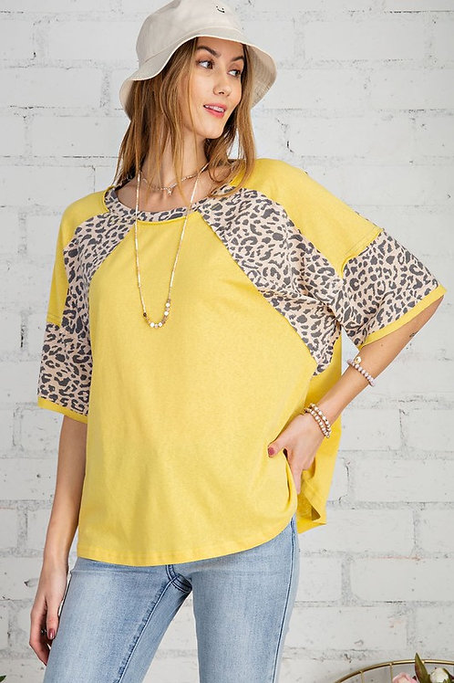 Mellow Yellow Leopard