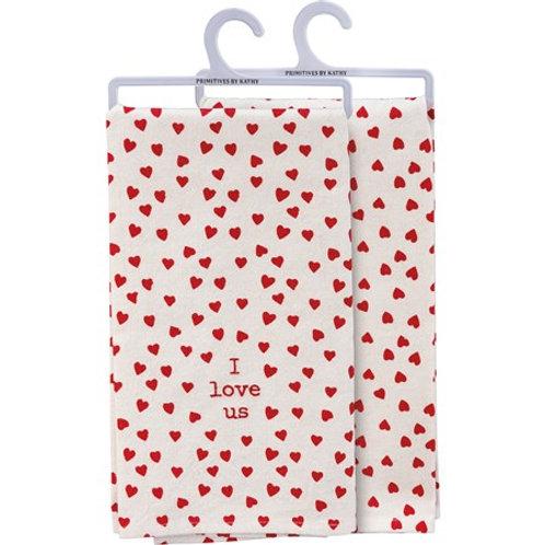 I Love Us Towel