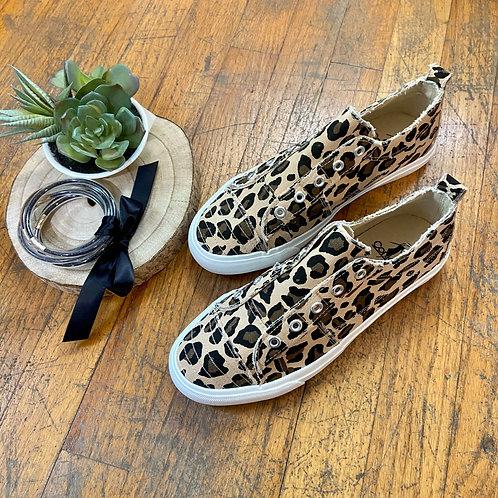 Leopard Corky's Sneaker