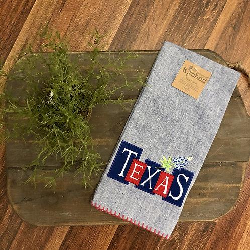 Star of TEXAS Towel