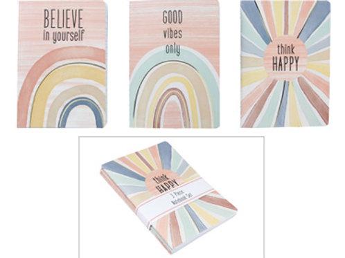 Be Positive 3pc Journal Set