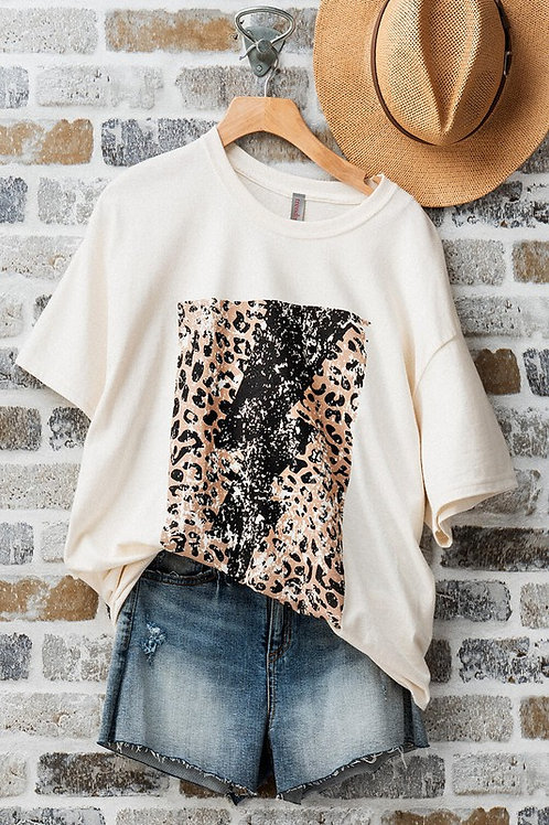 Lightening Leopard Top