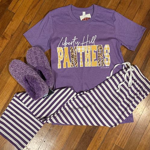 Purple Stripe Lounge Pants