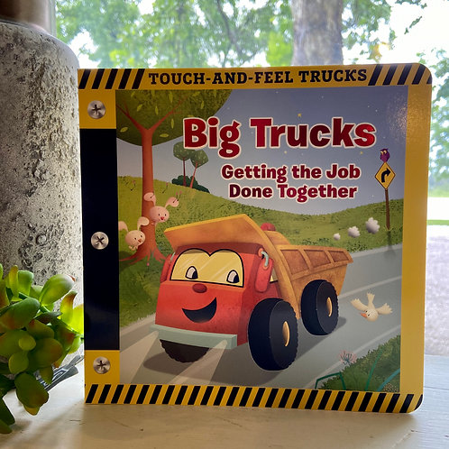 Big Trucks Touch Book