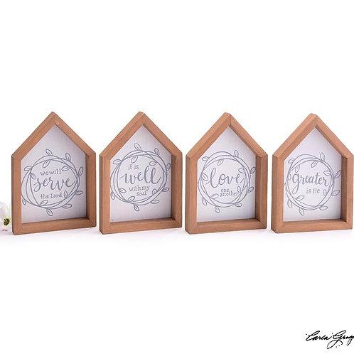 House Shelf Sitter Sign