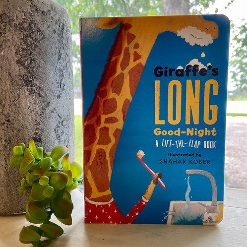 Giraffe's LONG Good Night Book
