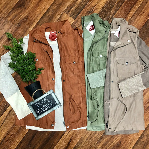 Soft Suede-like Vest