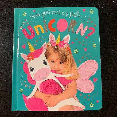My Pet Unicorn Board Book
