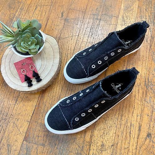 Black Corky's Sneaker
