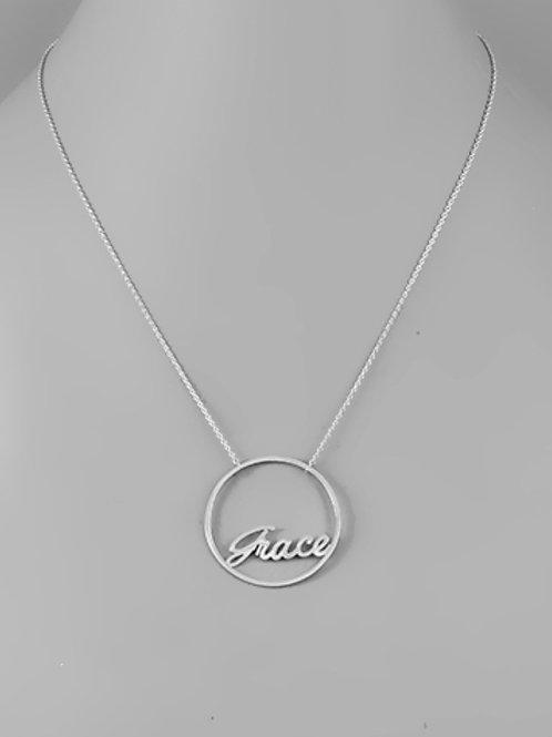 Circle Grace Necklace