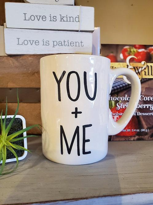 You + Me Mug