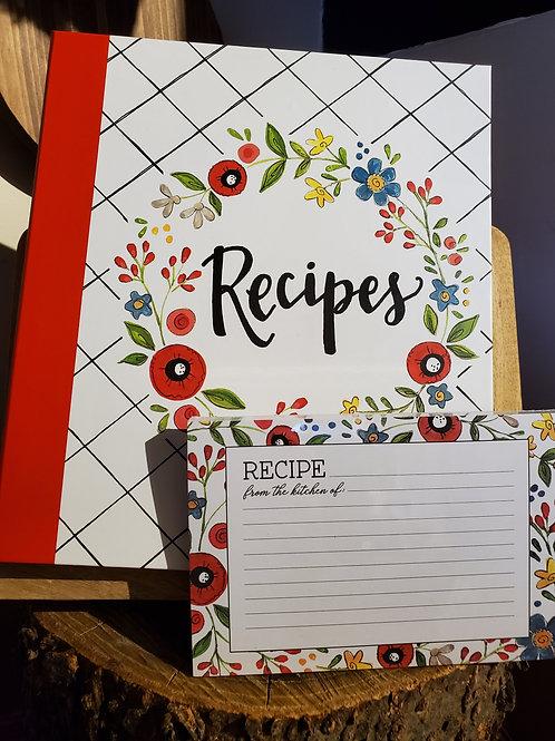 Recipe Binder & Cards