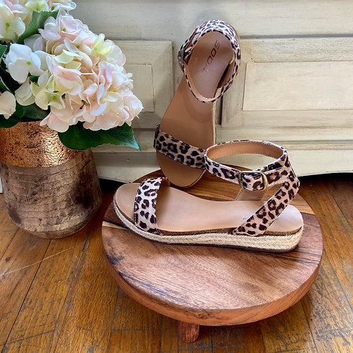 Corded Cheetah Sandals