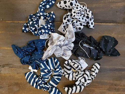Dot & Stripe Scrunchies