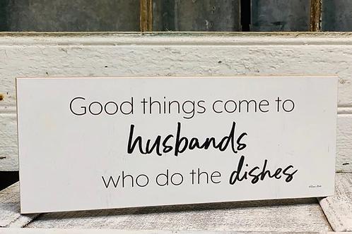 Husbands & Dishes Block