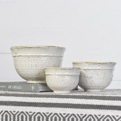 White Bowl Set