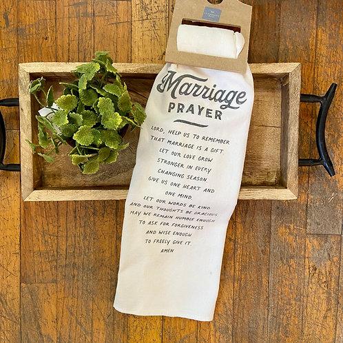 Marriage Prayer Towel