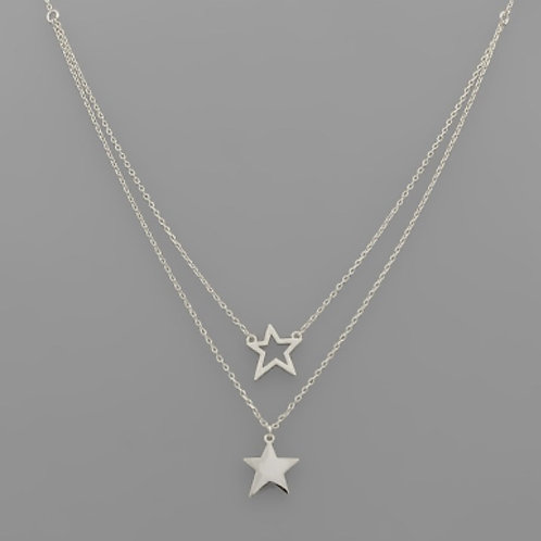 Star Upon Star Necklace