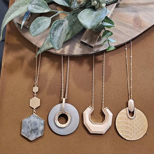 Light Sage & Ivory Necklaces