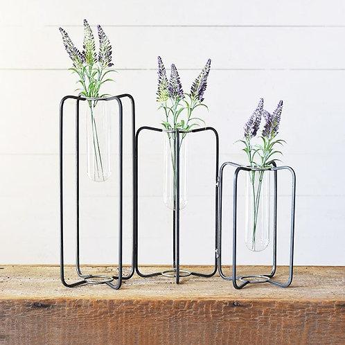 Triple Stem Vase