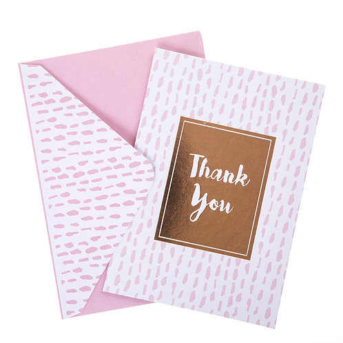 Dashed Thank You Cards
