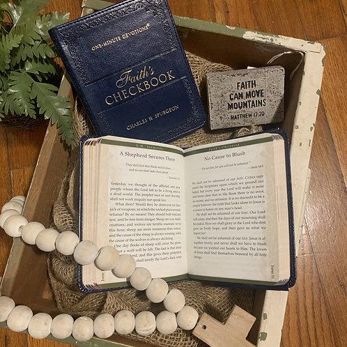 Faith's Checkbook by Charles Spurgeon