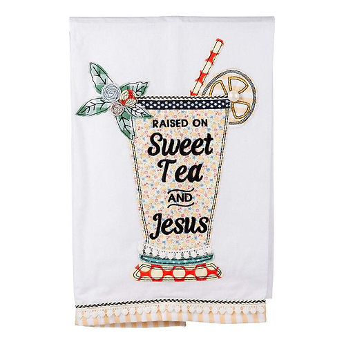Sweet Tea & Jesus Towel