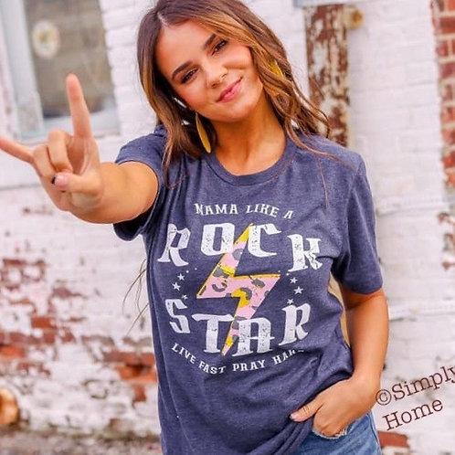 Mama Like a Rock Star Tee