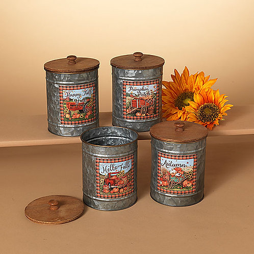 Fall Scene Canisters
