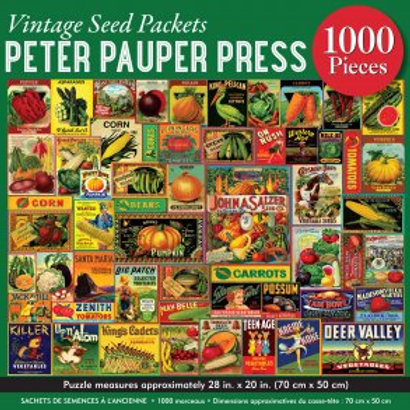 Vintage Seed Packets Puzzle