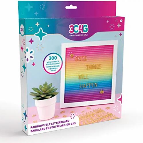 Rainbow Bright Letter Board