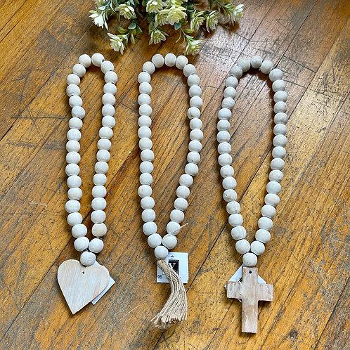 Wood Bead Hanger