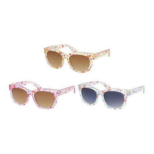 Heart Pattern Sunglasses