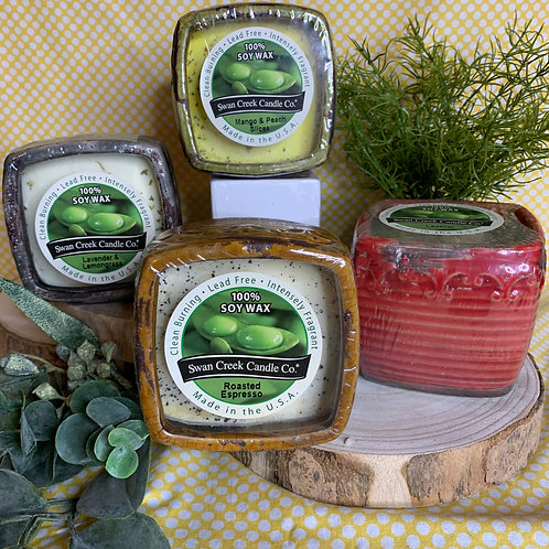 Swan Creek Vintage Round and Square Pots