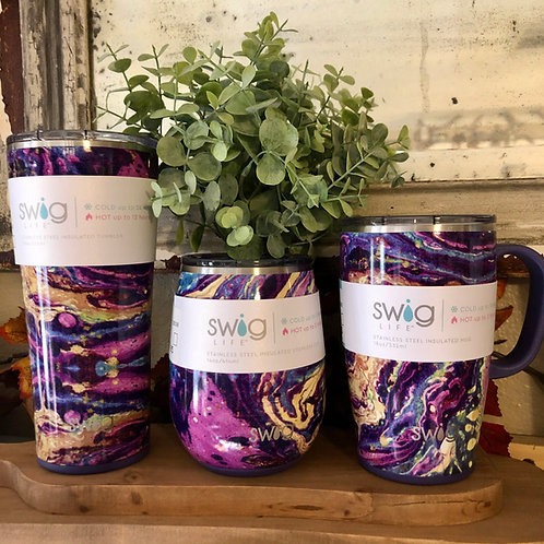Purple Reign SWIG Insulated Tumblers
