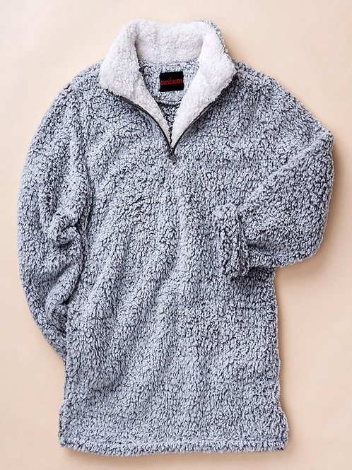 Fuzzy Fleece Half-Zip