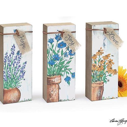 Wildflower Shelf Signs